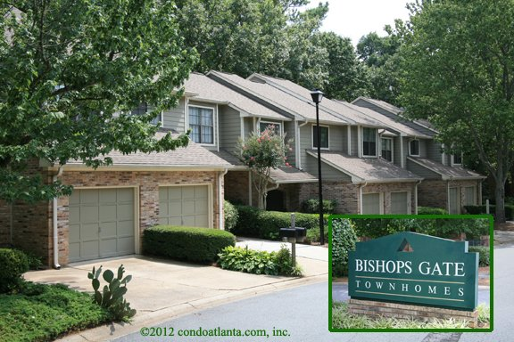 Bishops Gate Townhomes in Alpharetta Georgia