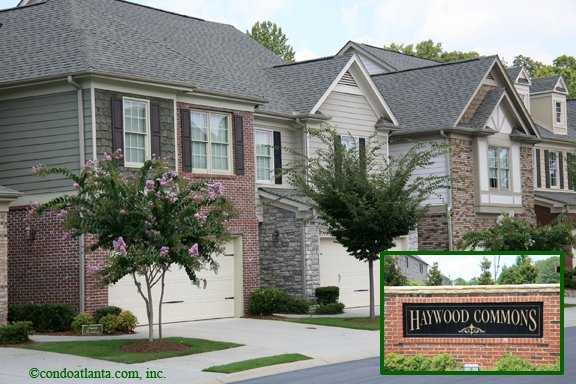 Haywood Commons Townhomes in Alpharetta Georgia