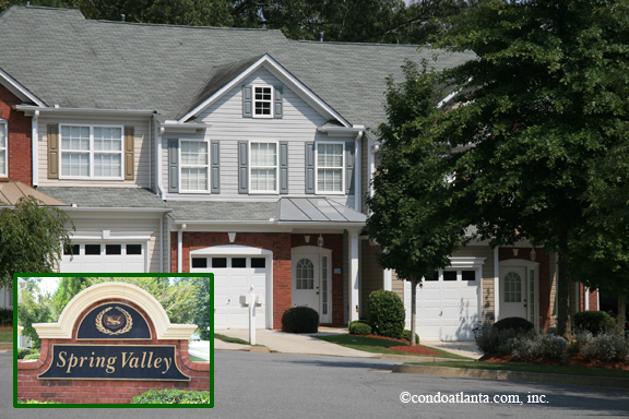 Spring Valley Townhomes in Alpharetta Georgia