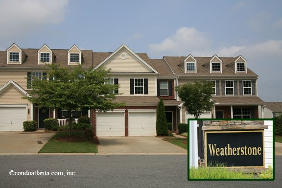 Weatherstone Townhomes in Alpharetta Georgia