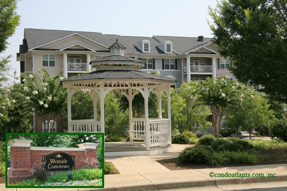 Westside Commons Condominiums in Alpharetta Georgia