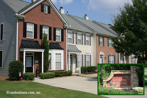 Windcrest Park Townhomes in Alpharetta Georgia