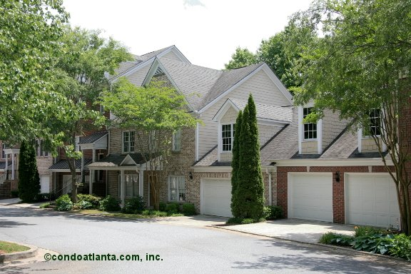 Bridgetown Villas Townhomes in Alpharetta Georgia