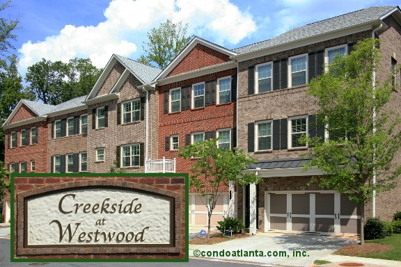 Creekside at Westwood Townhomes in Alpharetta Georgia