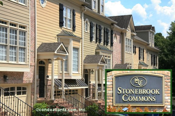 Stonebrook Commons Townhomes in Alpharetta Georgia