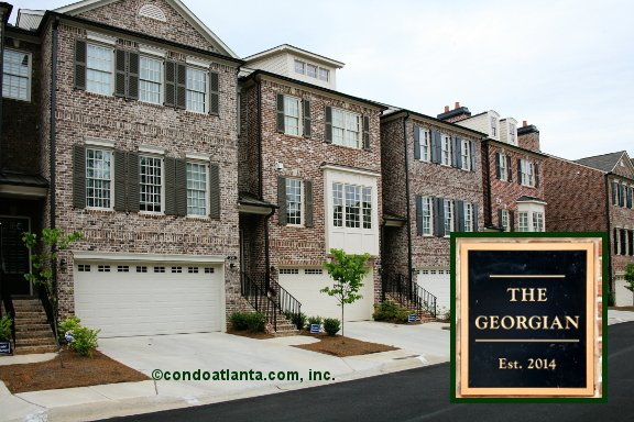 The Georgian Townhomes in Alpharetta Georgia