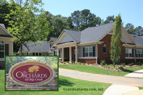 The Orchards of Big Creek Ranch Condos in Alpharetta Georgia