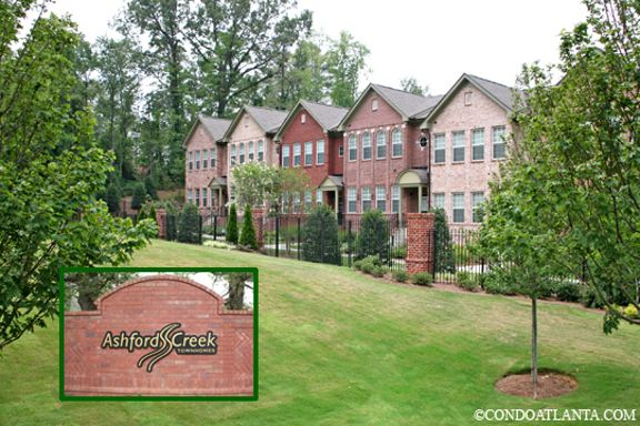 Ashford Creek Townhomes in Brookhaven Georgia
