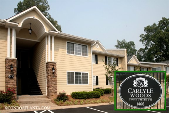 Carlyle Woods Condominiums in Brookhaven Georgia