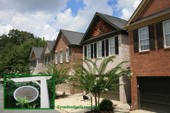 Harrison Park Townhomes in Brookhaven Georgia