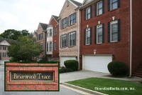 Briarwood Trace Townhomes in Brookhaven Georgia