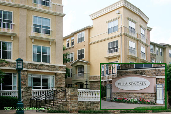 Villa Sonoma Condominiums In Brookhaven Georgia