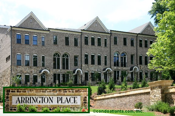 Arrington Place Townhomes in Brookhaven Georgia