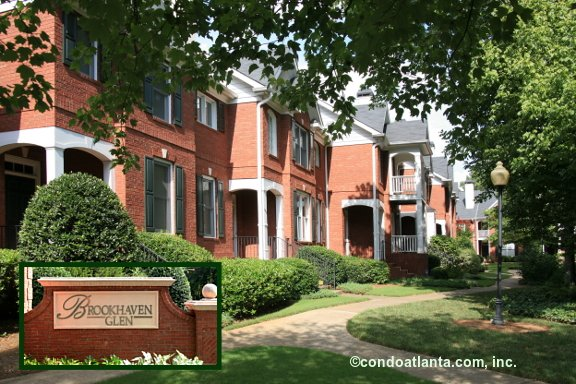 Brookhaven Glen Townhomes in Brookhaven Georgia