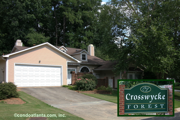 Crosswycke Forest Ranch Condominiums in Brookhaven Georgia