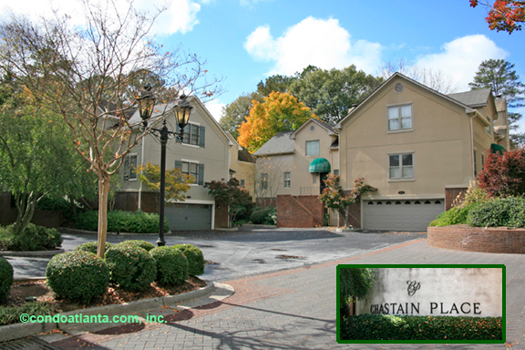 Chastain Place Townhomes in Buckhead Atlanta Georgia