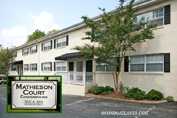 Mathieson Court Condominiums in Buckhead Atlanta Georgia