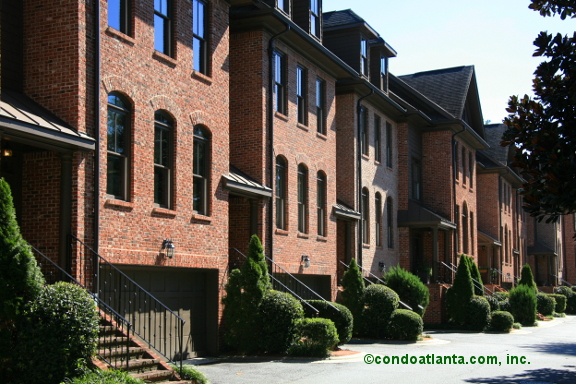Chastain Reserve Townhomes in Buckhead Atlanta Georgia