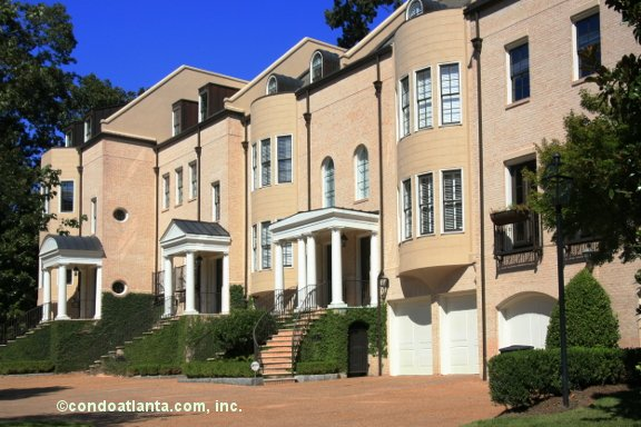 Habersham on Ivy Townhomes in Buckhead Atlanta Georgia