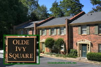 Olde Ivy Square Townhomes in Buckhead Atlanta Georgia