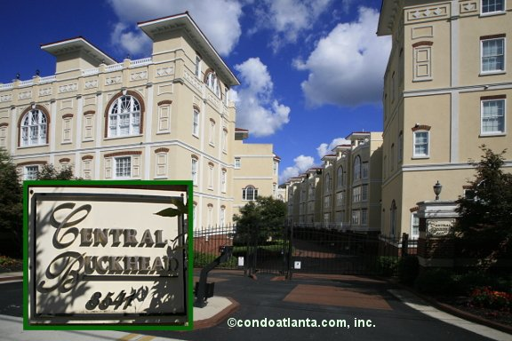 The Central Buckhead Townhomes in Buckhead Atlanta Georgia