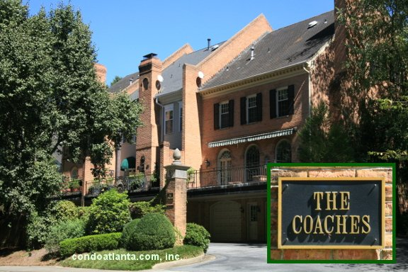 The Coaches Townhomes in Buckhead Atlanta Georgia