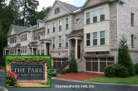 The Park at East Paces Townhomes in Buckhead Atlanta Georgia