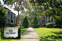 55 Delmont Homes Historic Condominiums in Buckhead Atlanta Georgia