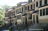 Alberta Terrace Townhomes in Buckhead Atlanta Georgia