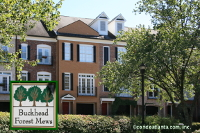 Buckhead Forest Mews Townhomes in Buckhead Atlanta Georgia