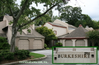 Burkeshire Townhomes in Buckhead Atlanta Georgia