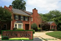 Lenox Oaks Townhomes in Buckhead Lenox Atlanta Georgia