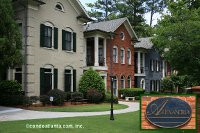 The Alexandria Townhomes in Buckhead Lenox Atlanta Georgia