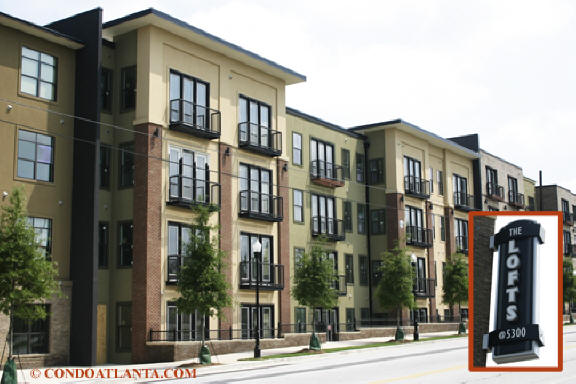 The Lofts at 5300 in Chamblee Georgia