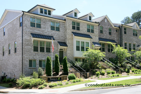 Towns at North Peachtree Townhomes For Sale in Chamblee GA