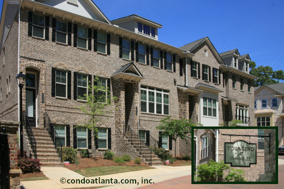 Townsend at Chamblee Townhomes For Sale in Chamblee GA