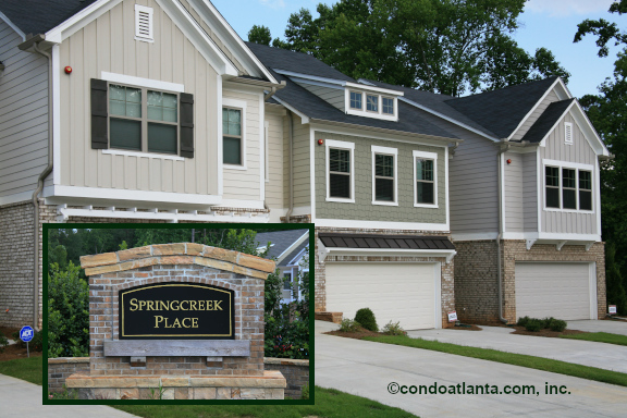 Spring Creek Place Townhomes in Woodstock GA