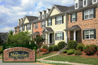 Magnolias at Ridgewalk Townhomes in Woodstock Georgia