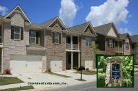 The Pointe at Centennial Lakes Townhomes in Acworth Georgia