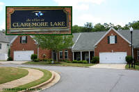 The Villas at Claremore Lake Townhomes in Woodstock Georgia