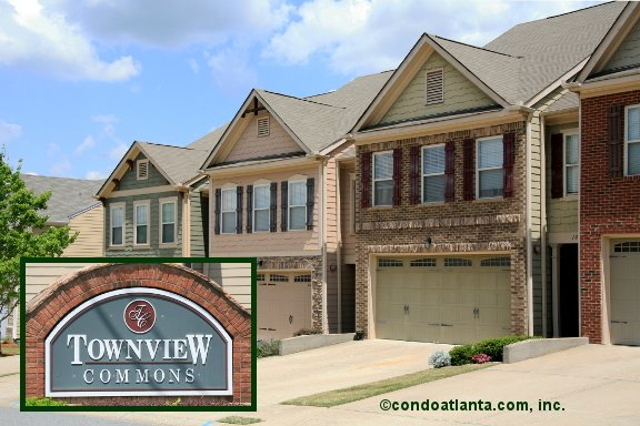 Townview Commons Townhomes in Woodstock Georgia