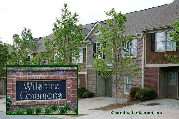 Wilshire Commons Townhomes in Acworth Georgia