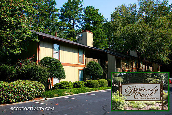 Dunwoody Court Condominiums in Dunwoody Georgia