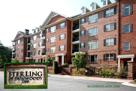 Sterling of Dunwoody Condominiums in Dunwoody Georgia