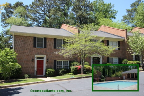 Dunwoody Club Townhomes in Dunwoody Georgia