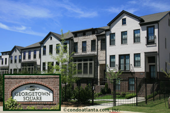 Georgetown Square Townhomes in Dunwoody GA