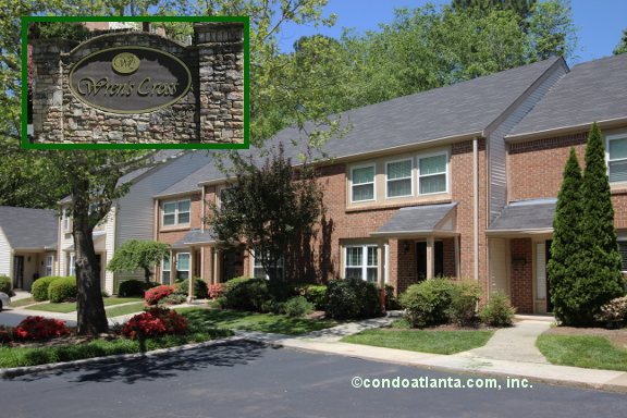 Wrens Cross Townhomes in Dunwoody Georgia