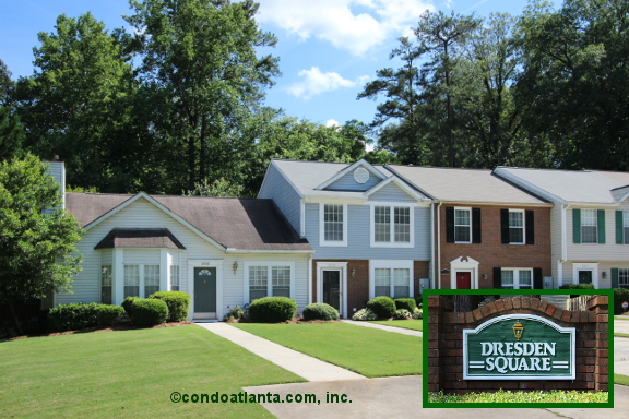 Dresden Square Townhomes in Chamblee Georgia