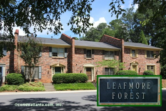 Leafmore Forest Townhomes in Decatur Georgia