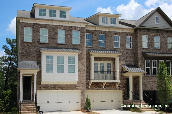 Linden Place Townhomes in Atlanta Georgia